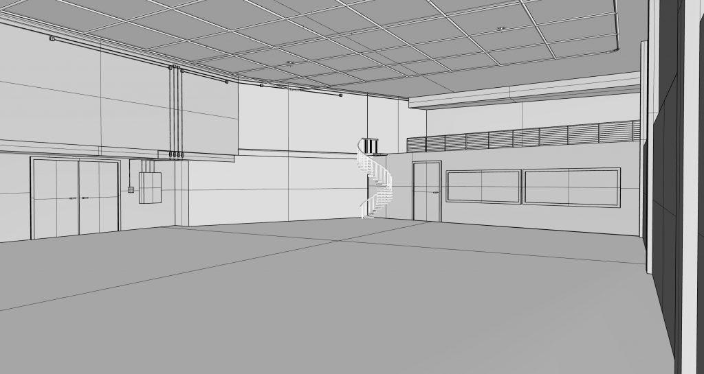 DEV Studio room render